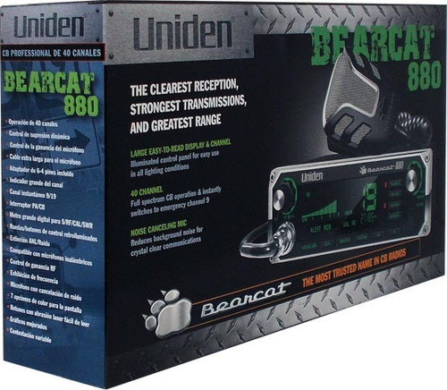 Uniden Bearcat 880 Mobile CB Radio