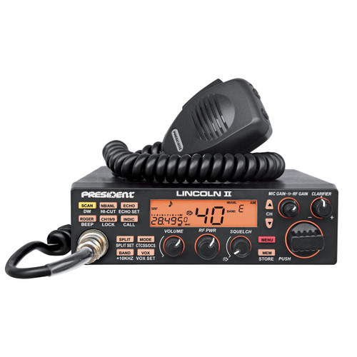 We've been anxiously awaiting the release of the President Lincoln II over the last year but little did we know that President was planning to release two SSB radios in 2014. Yes, the long dry spell is over and to kick things off we're going to be doing a review of the new President Grant II AM/FM/SSB 10/11 meter radio from President.  For North American consumers the release of these radios is going to be a little bittersweet; yes the radios are awesome, yes they are now available, but if you want one you're going to have to purchase from a dealer in Europe