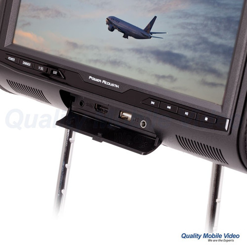 "Power,PHDM-103 Digital Media Headrest w/ 10.3"" LCD/HDMI nput"