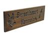 German Shepherd dog kennel sign