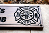 Firefighter Sign with wrench hand (CWD-417)