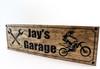 Motorcycle Sign-Dirt bike sign-biker Sign