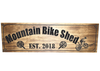 personalized bicycle sign