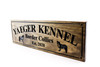 DOG Kennel Sign with border collies