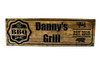 personal bbq grill sign
