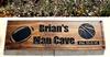 Football - Basketball Man Cave/Sports Sign
