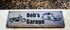 Garage Sign with Harley and Porsche (CWD-463)