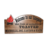 personalized camping trailer sign