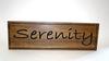 Serenity Sign