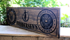 ARMY  & NAVY Sign