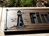 carved lighthouse