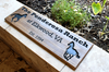 horse warm sign with personalized text