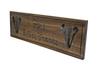 wooden custom kitchen family sign