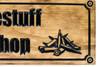 wooden gun shop sign
