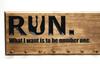 Running Medal Holder Sign  (CWD-560)