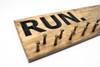 run sign