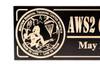 Aviation survival training center norfolk military plaque (CWD-636)