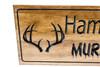 deer antlers sign