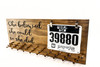 She believed she could so she did. Marathon Medal display 23x9