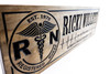 Nurse Sign, Nurse plaque for retirement gift, birthday gift for nurse - RN wooden sign