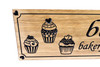 Cupcake bakery Kitchen Sign, cupcake wooden sign, home bakery sign, custom bakery wood sign, Personalized Wood Sign