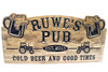 Home Pub sign- wooden bar sign - Camp Sign, Weekend Camping, Personalized Wood Sign, Lake house Sign, Cottage Sign, Anniversary Gift