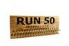 Marathon Medal display 23x9 with 50 PEGS-running medals and race bibs holder-running medals and race bibs hanger-Marathon