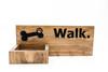 Dog Leash Holder, custom leash holder for wall, dog treat, personalized collar holder, wooden dog leash hook