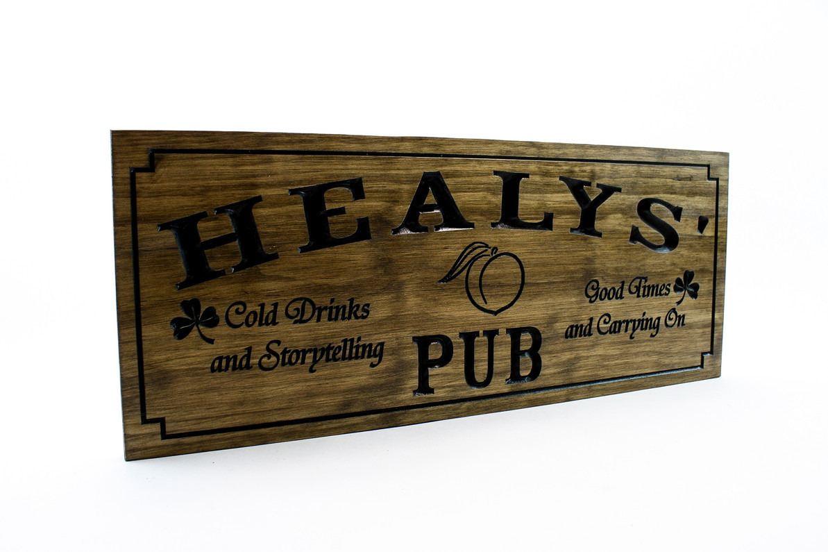 Home bar sign- wooden bar sign, home PUB sign, rustic wooden pub sign for your home bar (CWD-686)