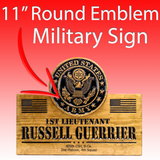US ARMY Emblem SIGN - Military sign