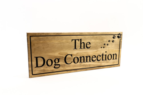 dog sign for yard
