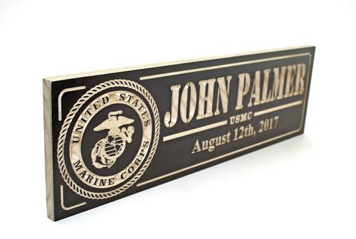 marine corps retirement plaques