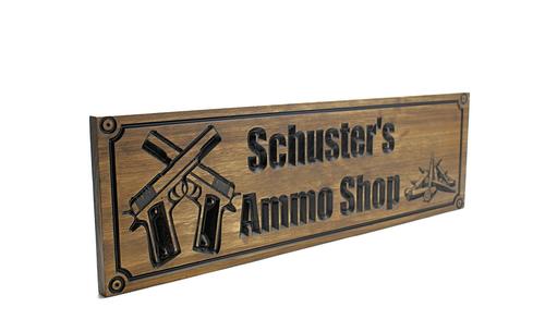 ammo shop sign