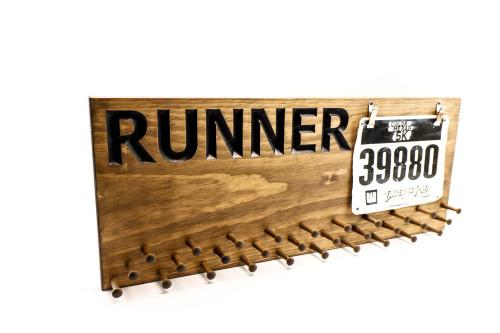Runner--- Marathon Medal display
