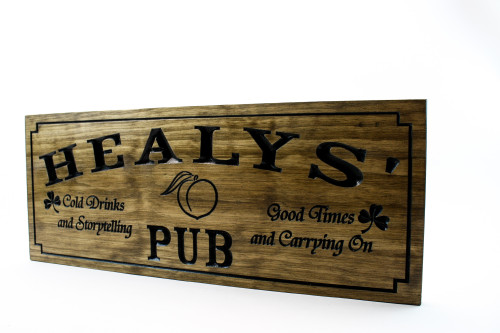 Home bar sign- wooden bar sign