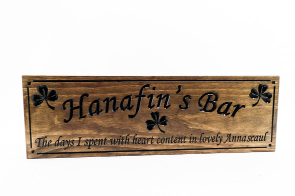Celtic name sign-Family Sign-Home Bar Sign-Pub Sign-Custom sign-Personalized Wood Sign-Anniversary Gift