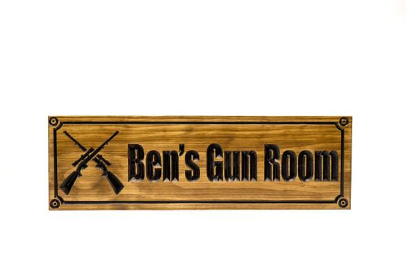 Gun room Sign (CWD-394)