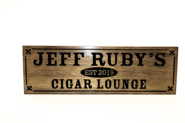cigar lounge, home bar sign