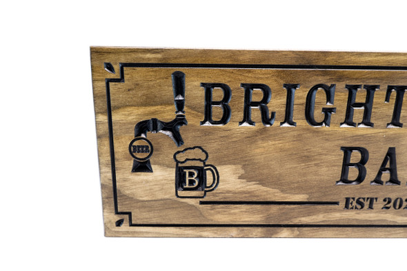 Tavern Sign-Restaurant Sign-Bar Sign-Home Bar sign-Personalized Wood Sign
