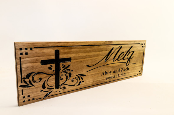 Family Sign...Wedding Sign-Marriage Sign-Housewarming sign-Personalized Wood Sign-Anniversary Gift-Christian Gift-Religious Gift (CWD-149)