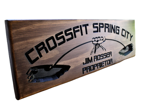 Crossfit Gym Sign | Garage Gym Sign