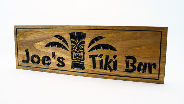 outdoor tiki bar signs