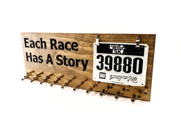race bibs holder