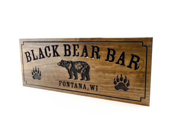 Grill & Bar sign with BEAR