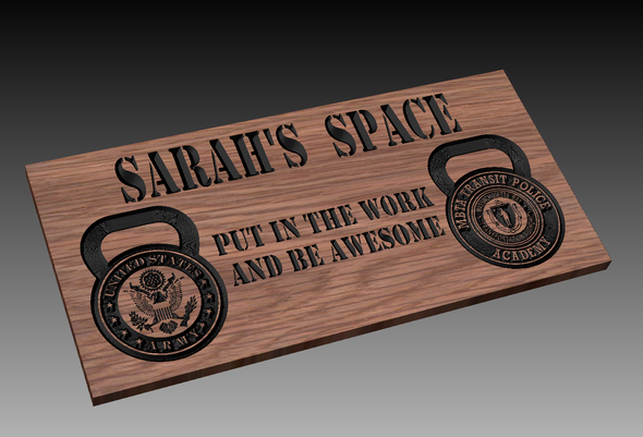 Custom Gym Sign