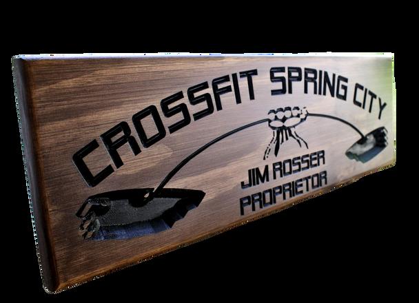 Crossfit Gym Sign | Garage Gym Sign