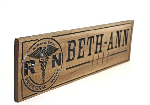 nurse retirement plaque / sign
