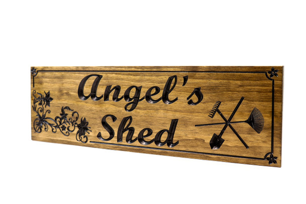 She Shed wooden sign