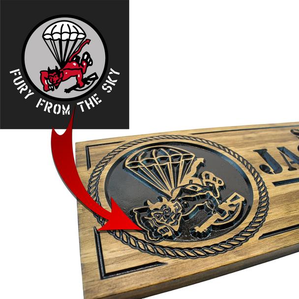 custom military emblem