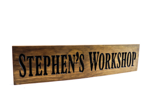 Workshop Family name sign